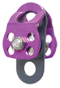 CMI Micro Double Rescue Pulley Purple  3180kg Special Order