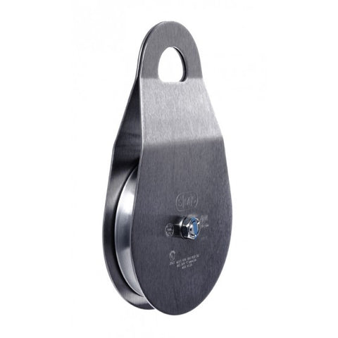 "SMC 3"" RA Single Stainless Steel Pulley"