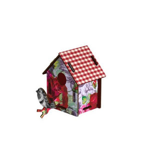 MIHO Bird House Small - Enjoy the Crumbs Wall Decor