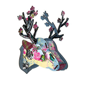 NEW Miho It's a Gem Mini Trophy Deer Head Wall Decoration