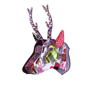 Miho Wall Decoration Gentle Roe Deer Trophy [Baby Product]