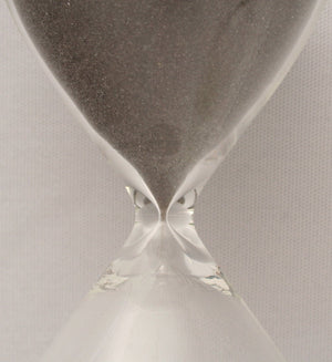 Glass 30 Minute Sand Timer