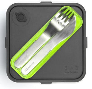 Monbento MB Pocket Nomad Cutlery Set - Grey, One Size