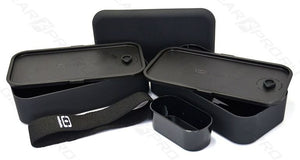 Monbento MB Original Black Lunch/Bento Box Made In France