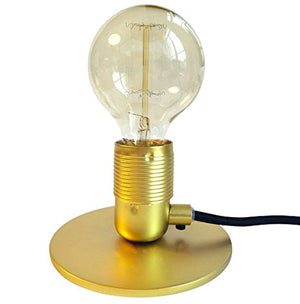 E27 Brass Base Lamp