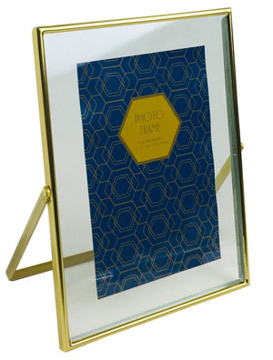 "Gold Metal Photo Frame 4""x6"""