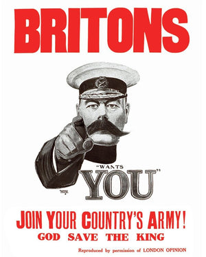 Vintage Metal Sign - Retro Propaganda - Join Your Country's Army
