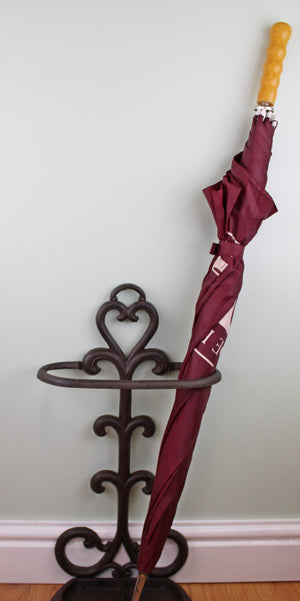 Rustic Cast Iron Umbrella Stand