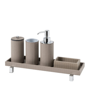 "Pinetti Handcrafted Bathroom Set ""Poseidon"" - Round"