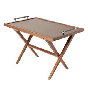 Pinetti Dedalo Tray Table Small Taupe