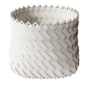 Pinetti Hancrafted Almeria Basket Square White