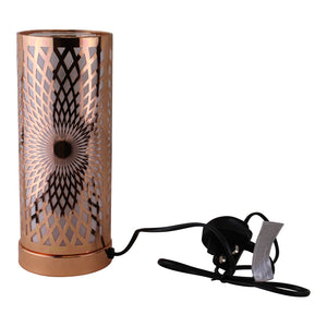 Kaleidoscope Design Colour Changing LED Lamp & Aroma Diffuser in Rose Gold