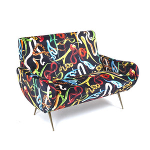 Seletti Sofa Two Seater Snakes