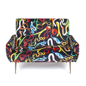 Sofa Two Seater Snakes