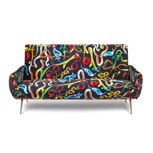 Sofa Three Seater Snakes