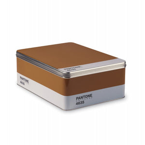 """Pantone"" Metal Box Brown CM 30X22"