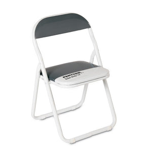 "Seletti ""Pantone® Cg10"" Metal Folding Chair CM44 H46/79 - Cool Gray 10 C"