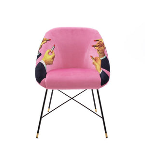Padded Chair Lipsticks Pink