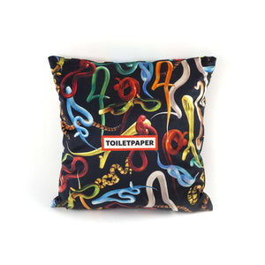 Seletti Toiletpaper Pillow Snakes