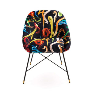 Seletti Padded Chair Snakes
