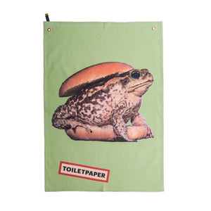 "Seletti ""Toiletpaper"" Toad Dry Cotton"