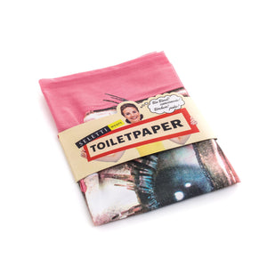 "Seletti ""Toiletpaper"" Dry Cotton Tea Towel CM45X65 - Eye"