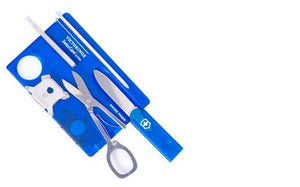 Victorinox Swiss Card Lite Jelly Blue