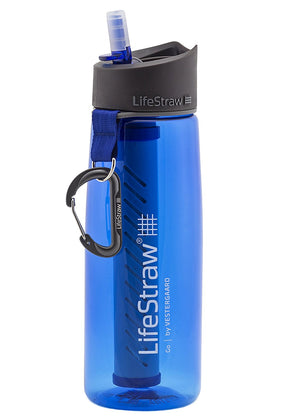 Go Water Filter Bottle Blue
