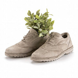 Seletti Chaussures -  Concrete Shoe Shaped Vase