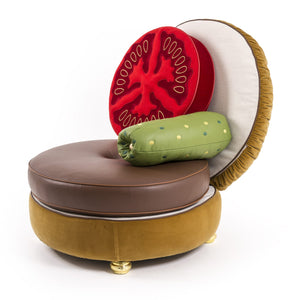 hamburger chair seletti
