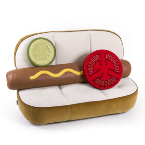 Hot Dog Sofa with Accessories