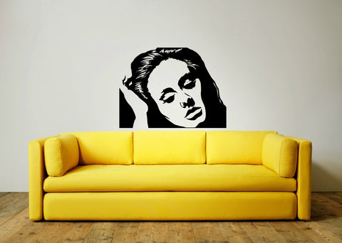Adele Wall Art Sticker