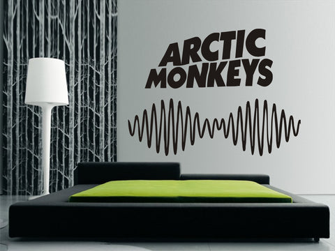 Arctic Monkeys Text & Logo