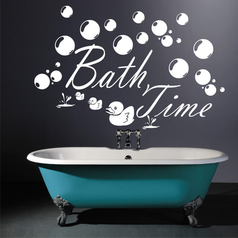 Bath Time Wall Stickers