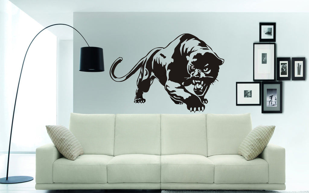 panther wall art stickers