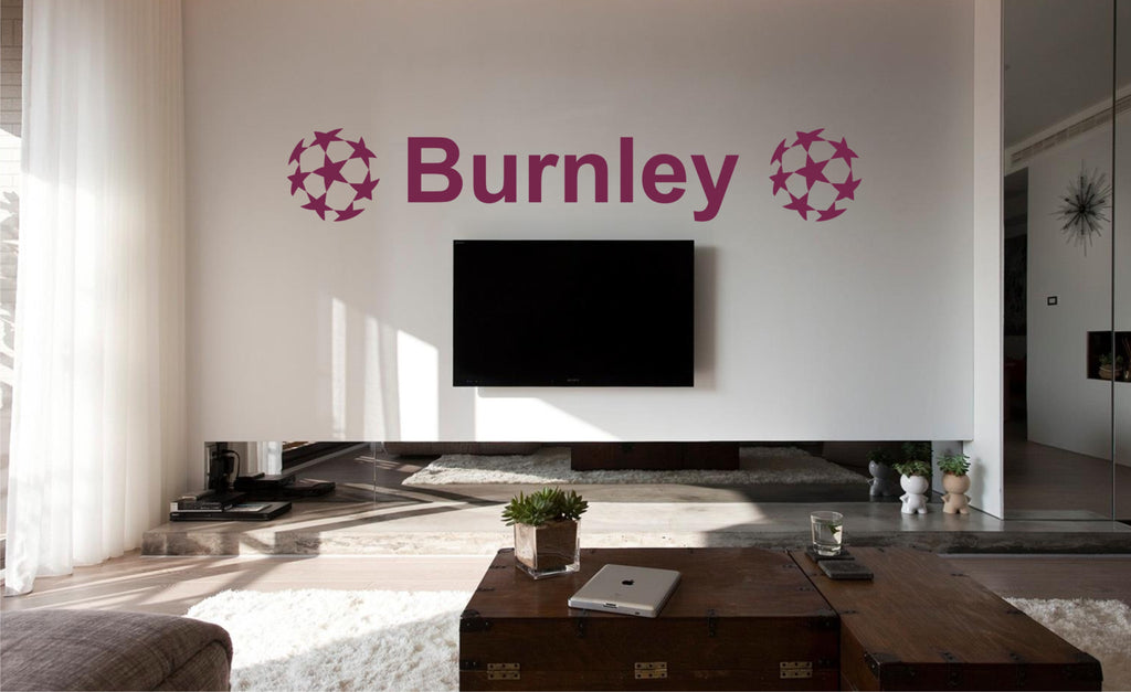 Burnley FC Wall Art Stickers