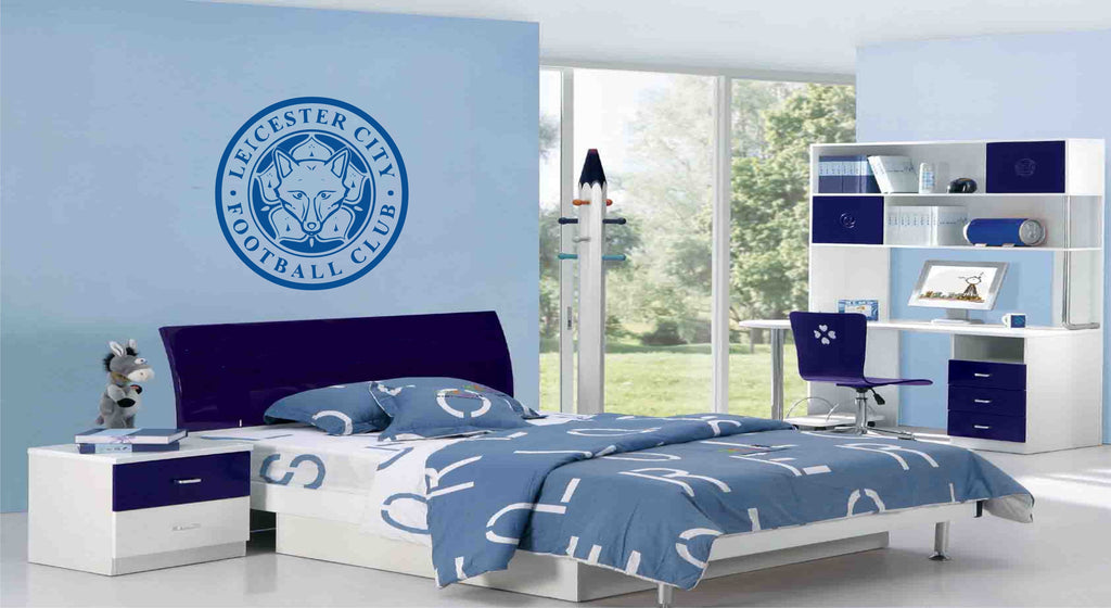 Leicester City FC Badge Wall Art Sticker