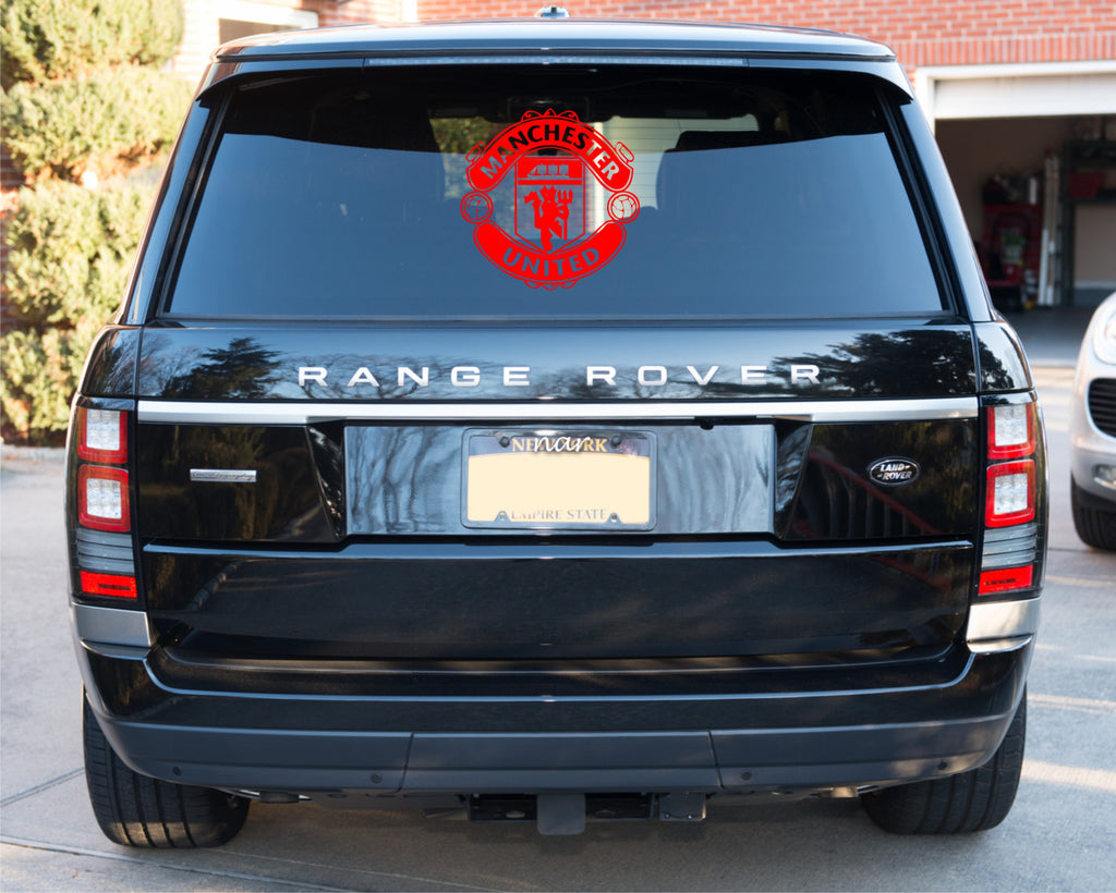 MUFC Car sticker