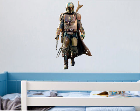 Mandalorian (Full Colour Wall Sticker)