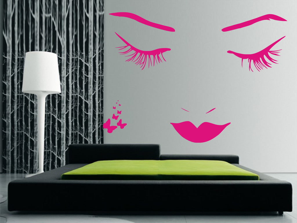 nao woman wall art sticker