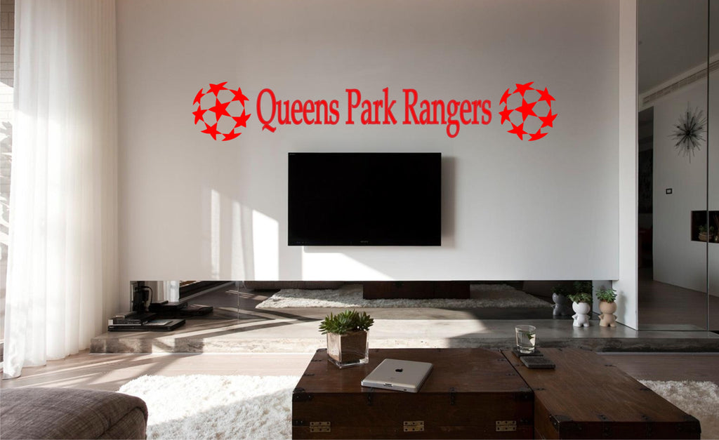 QPR football wall art sticker