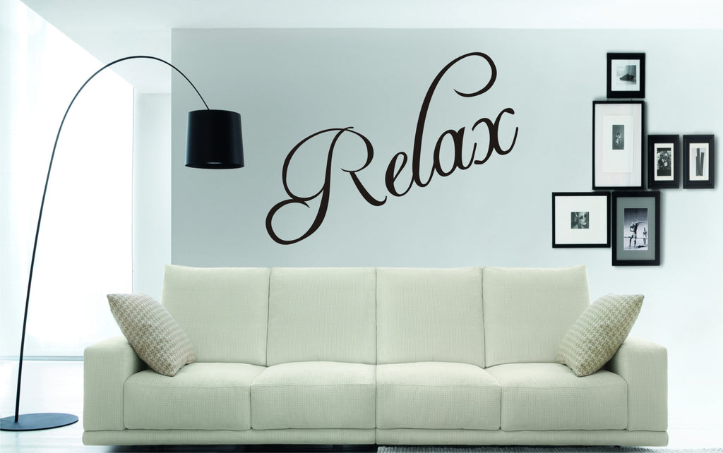 Relax Wall Art Sticker