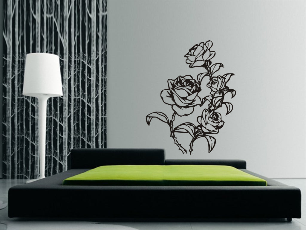Roses wall sticker