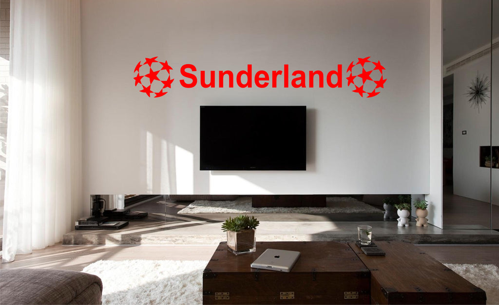 Sunderland FC football wall art sticker