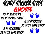 Ghost Stickers (ideal for tiles, glass, ceramics, any flat surface)