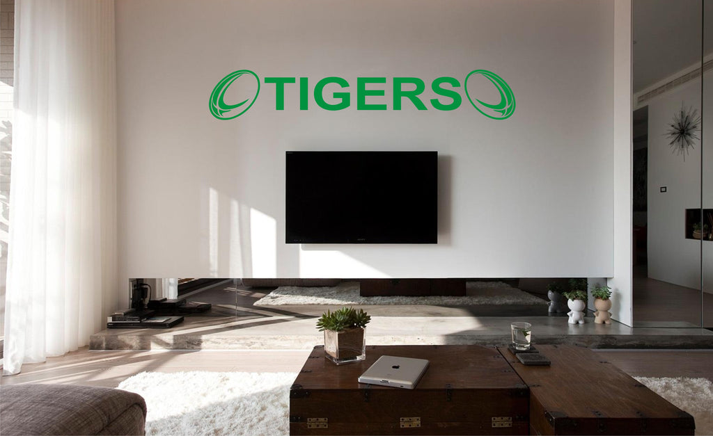 Leicester Tigers Wall Art Sticker