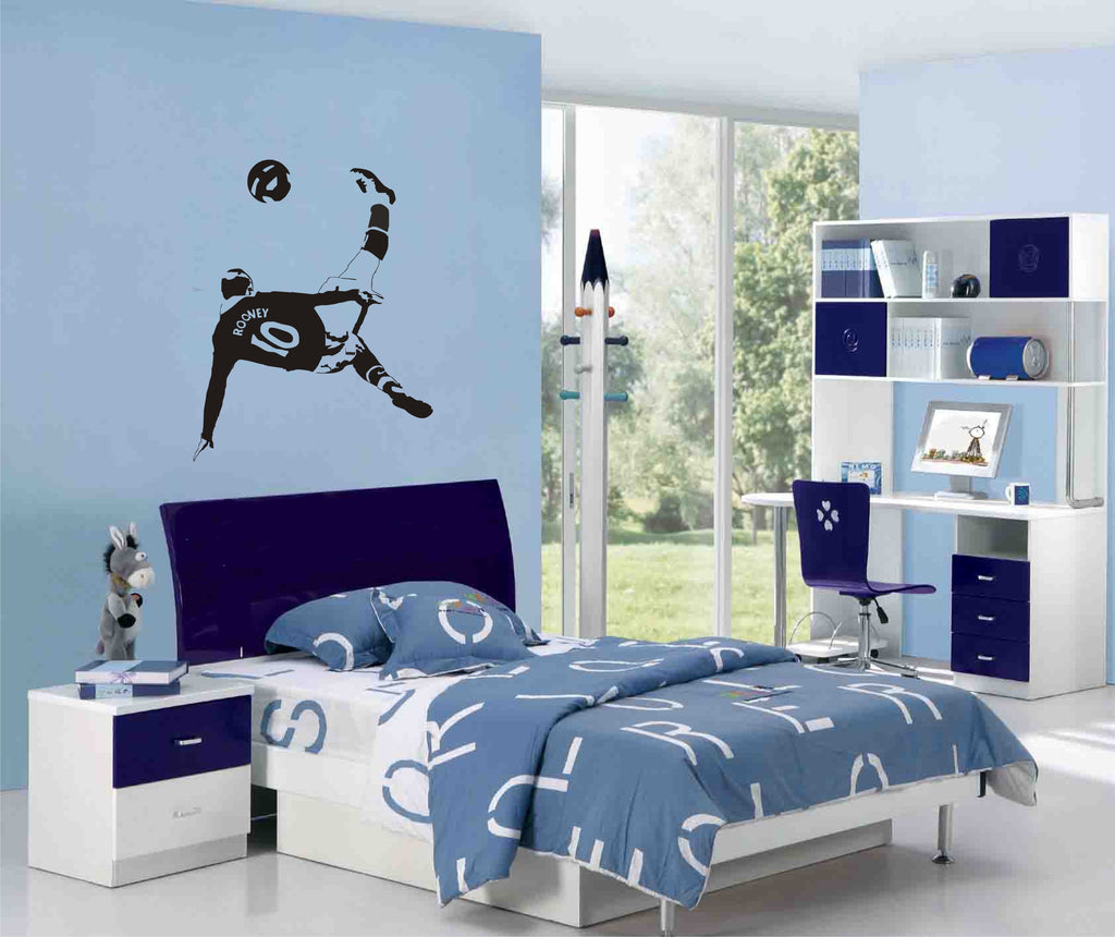 Wayne Rooney Wall Sticker