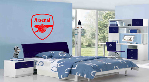 Arsenal Football Club Badge Wall Sticker (65 x 55cms)