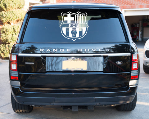 Barcelona Badge Car Sticker (35 x 30cms)