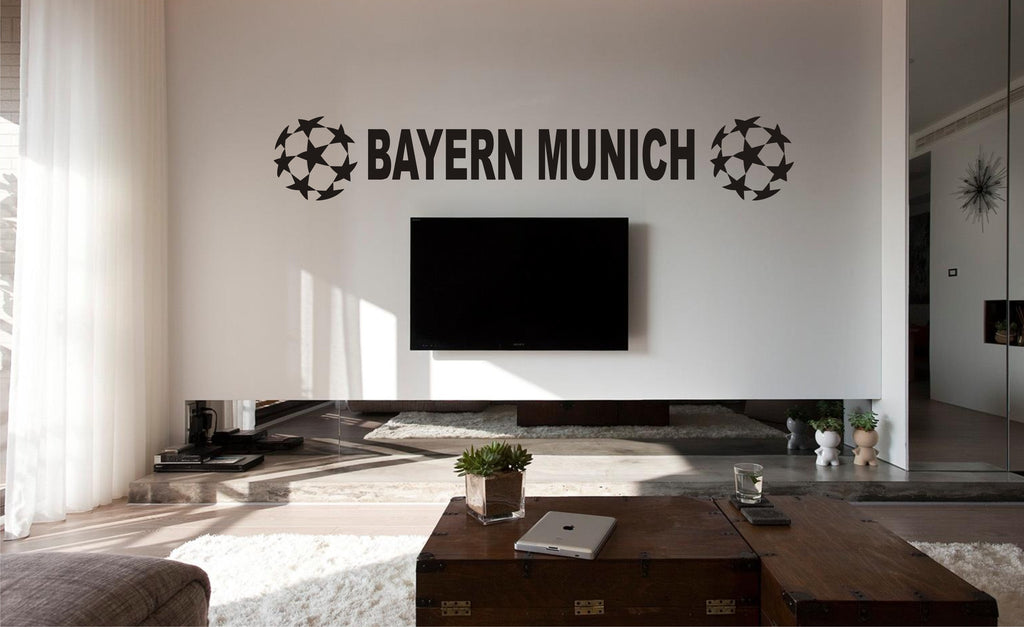 bayern munich football wall art sticker